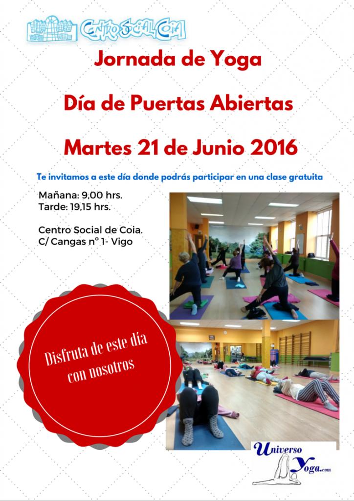 21 de junio jornada de yoga puertas abiertas
