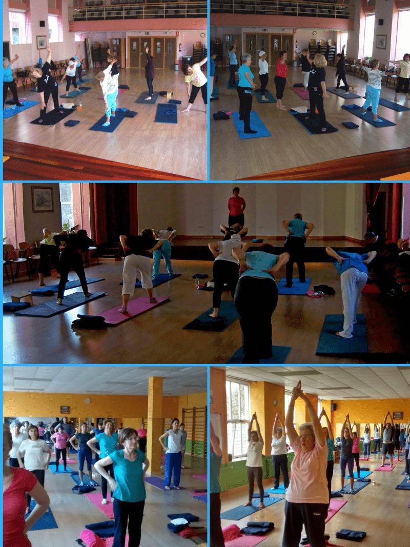 Participantes en el Día Internacional del Yoga - 21 de Junio de 2016 - Universoyoga