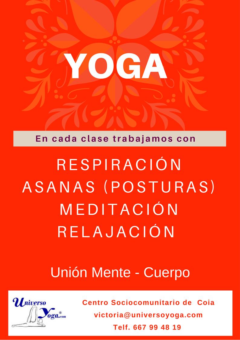 Clases de Yoga Julio 2017-Vigo