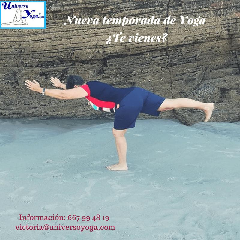 Nueva temporada de Yoga ¿Te vienes?